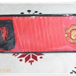ที่ใส่แผ่นซีดี ติดที่บังแดดรถยนต์ ลาย Manchester United A004