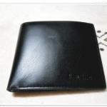 กระเป๋าสตางค์หนังแท้ Paul smith ใบสั้นสีดำ