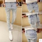 กางเกงผู้ชาย | กางเกงยีนส์ชาย กางเกงยีนส์ขายาว แฟชั่นไต้หวัน