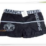 กางเกงในชาย เนื้อนุ่ม Manchester United สีดำ B008