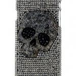 เคส iphone 6 เคส Diy แนว Hard core ติดคริสตัล ลายหัวกะโหลก เคส แนวร็อคเกอร์ สีเงิน ไม่ซ้ำใคร แบบเท่ 403938