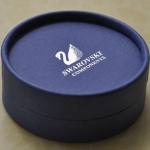 กล่องใส่เครื่องประดับ กล่องใส่ต่างหู แหวน สร้อยคอ หรือ กล่องใส่สร้อยข้อมือ ทรงกลม Swarovski no 876326