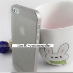 ซื้อ 1 แถม 1 Case ใส่ Iphone 5 5s แบบใส สีเทา