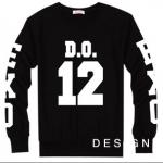 เสื้อแขนยาว DO-12 black sleeves [EXO]