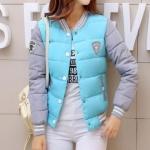 แฟชั่นกันหนาว เสื้อกันหนาว แบบนวม เสื้อกันหนาว วัยรุ่น ผู้หญิง สีพาสเทล สีลูกกวาด เสื้อ jacket ใส่กันหนาว ใส่เที่ยว สวย ๆ 106584