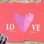 เสื้อคู่รัก หัวใจ Love forever