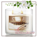 Bath & Body Works Slatkin & Co / Candle 14.5 oz. (Sandalwood Vanilla)