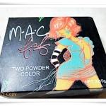 แป้งแต่งหน้า Mac Two power colour กล่องดำ