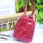 Bath & Body Works / PocketBac Holder (Red Glitter) *ไม่รวมเจลล้างมือ