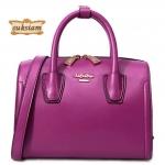 La Festin Paris leather bags 100% กระเป๋าแฟชั่นผู้หญิงหนังแท้สีสวยสดใส กระเป๋าขนาดกลางใส่ของได้เยอะกระเป๋าทรงสวยหนังแท้ ID: B002