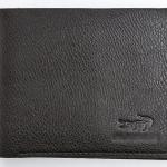 กระเป๋าสตางค์หนังแท้ กระเป๋าสตางค์ผู้ชาย Lacoste ใบสั้น สีน้ำตาลเข้ม no4
