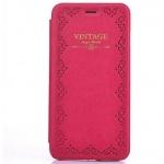 เคสหนัง เคส iPhone 6 4.7 สไตล์ วินเทจ สีชมพู กุหลาบ หวาน ๆ ผู้หญิงใช้ แบบสวย เคสแบบมีฝา เปิดปิดได้ แบบคลาสสิค สวยหรู มีสไตล์ 198616_3