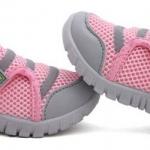 รองเท้าผ้าใบ เด็กผู้หญิง สีชมพู หวาน ๆ แบบ Sport น่ารัก รองเท้าเด็ก ใส่ง่าย แบบเป็น แถบตุ๊กแก เปิดปิด ถอดง่าย ใส่ง่าย แบบสวย ราคาถูก 481470_1
