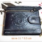 กระเป๋าสตางค์ Man U สีดำ หนังแท้ M001