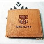 กระเป๋าสตางค์ หนังกลับ ทีมฟุตบอล Barcelona