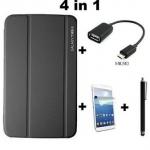 ถูกเหมือนแจกฟรี เคส Samsung Galaxy Tab 3 10.1 P5200/P5210 แถมฟรี ฟิล์มกันรอย ปากกาเขียนหน้าจอ สาย OTG มูลค่ารวมกว่า 570 บาท no 72295