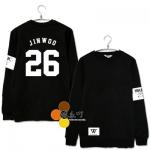 เสื้อแขนยาว Winner JINWOO 26 [คอตตอนแท้100%]