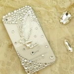 ID: A060 Case iPhone 4s, iPhone 4 case Crystal รุ่น Butterfly Fairy