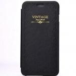 เคสหนัง เคส iPhone 6 4.7 สไตล์ วินเทจ สีดำ สุดคลาสสิค เรียบหรู เหมาะสำหรับ ผู้บริหาร เคสหนัง แบบพับ ตั้ง Iphone ได้ ของขวัญให้แฟนสุดเก๋ 198616