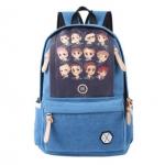 พร้อมส่ง กระเป๋าเป้ EXO Korean [ใบใหญ่] Blue