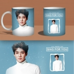 Preorder แก้วน้ำ sehun EXO Sing for u MKB594