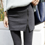 Skirts Legging เลกกิ้งกระโปรง แต่งซิป ผ้า cotton นุ่มลื่น ยืดได้เยอะ ใส่สบาย ได้ทุกวัน มี 3 สีให้เลือกด้านในจ้า พร้อมส่งเลยจ้า