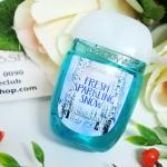 Bath & Body Works / PocketBac Sanitizing Hand Gel 29 ml. (Fresh Sparkling Snow)