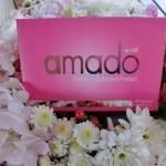 "AMADO ลดปวดประจำเดือน หน้าอกใหญ่ขึ้น ด้วย ""อมาโด้"" กล่องชมพู"