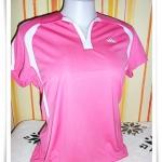 เสื้อกีฬา ผู้หญิง สีชมพู Ad014