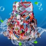 กระเป๋าสะพายหลัง กระเป๋าเป้ ผ้าไนลอน แบบวัยรุ่น รุ่นยอดนิยม ทรงคลาสสิค กระเป๋าเป้วัยรุ่น กันน้ำ 533612