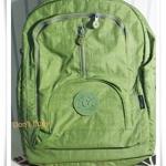 กระเป๋าสะพายหลังใส่ Notebook Kipling สีเขียว KP004