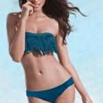 ชุดว่ายน้ำ ทูพีช แบบ บิกินี่ เหมาะสำหรับ สาวเปรี้ยว ชุดว่ายน้ำเกาะอก สินค้าใหม่ ราคาถูกสุด ๆ สีเขียวน้ำทะเล no 24418_2