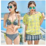 ชุดว่ายน้ำ bikini M L XL