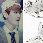 พร้อมส่ง หมวก Exo พิมพ์กราฟฟิตีเบสบอลสีดำและสีขาว