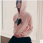 เสื้อกันหนาวมีฮู้ดสาวมหัวสไตล์เกาหลี