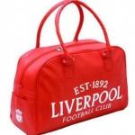 กระเป๋าไป Gym กระเป๋ากีฬา กระเป๋าเดินทาง กระเป๋าถือ Liverpool สีแดง หนัง Pu กันน้ำ สินค้าลดราคา no 218674