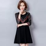 เสื้อผ้าคนอ้วนเกาหลี Large size women t-shirt shirt female
