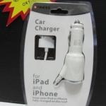 ชุดชาร์จiPhone และ Ipad ในรถ แบบสายยาว