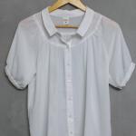 เสื้อชีฟองสีขาวแบรนด์ Real Coco