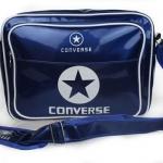 กระเป๋าสะพายข้าง ผู้ชาย Converse หนังแก้ว กันน้ำ ดีไซน์ ผสม ผ้าแคนวาส สีน้ำเงิน สีหายาก สีสวย แฟชั่น อังกฤษ กระเป๋าสะพายแนว Sport 835745_1