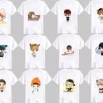 เสื้อ exo cartoon 12แบบ