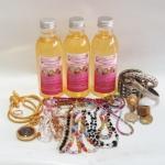 OK Clean Bright น้ำยาทำความสะอาดเครื่องประดับ เครื่องเงิน ทองเค ทองเหลือง นาค สแตนเลส โลหะทุกชนิด 240 ml.