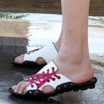 รองเท้าผู้ชาย   รองเท้าแฟชั่นชาย รองเท้าแตะ แฟชั่นไต้หวัน