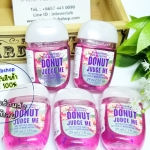Bath & Body Works / PocketBac Sanitizing Hand Gel 29 ml. Pack 5 ขวด (Donut Judge Me)