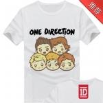 Preorder เสื้อ one direction 1D 17