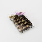 กระดุมแม่เหล็กแบบเจาะ ขนาด 18 มม. สีทองเลืองรมดำ (p12)