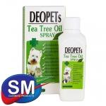 สเปรย์ระงับกลิ่นตัว DEO Pets (สารสกัดจากน้ำมันใบชาออสซี่) 160ml