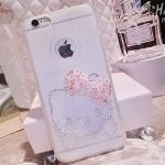 Kitty Case iPhone 6/6 Plus เคสไอโฟน 6 น่ารักคิตตี้ ประดับคริสตัล ID: A282