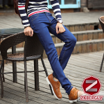 กางเกงยีนส์ผู้ชาย | ยีนส์แฟชั่นขายาว ทรงกระบอกเล็ก แฟชั่นเกาหลี