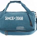 กระเป๋าเดินทาง กระเป๋าใส่เสื้อผ้า กระเป๋าเป้ ทรงกระบอก ทรงถัง กระเป๋าผ้าแคนวาส แบบเก๋ ๆ ใส่ของเดินทาง ไปยิม ไป ฟิตเนส แบบสวย ราคาถูก 289773